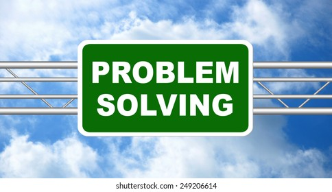 Problem Solving Icon Stock Photos, Images, & Pictures ... |Problem Solved Sign