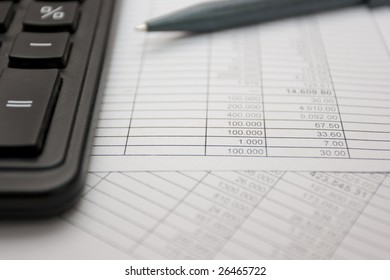 The process of balancing the checkbook.