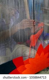 Process of carpet making in Bangladesh