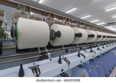 Process of yarn spinning