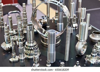 Processed metal parts for industry
