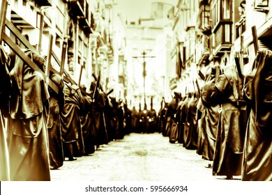 Processions, ancient customs of the Catholic Inquisition