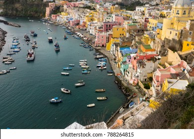 Procida is one of the Flegrean Islands off the coast of Naples in southern Italy. The island is between Cape Miseno and the island of Ischia.