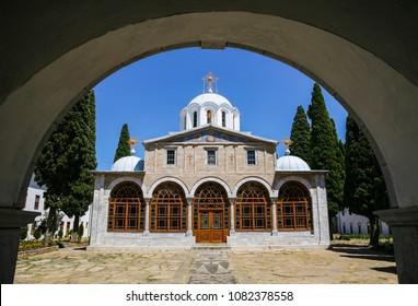 Prodomu monastery on Mount Athos Greece