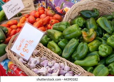 produce at market