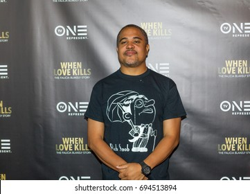 """Producer Irv Gotti attends the TV One Premiere of """" WHEN LOVE KILLS """" on Wednesday, August 9, 2017 at the Regal Atlantic Station in  Atlanta, Georgia - USA"""