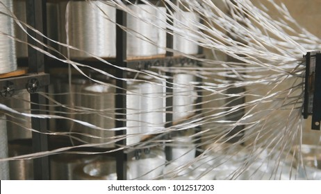 Producing fiberglass rods - manufacture of composite reinforcement, industry for construction