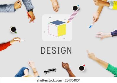 Product Brand Design Ideas Imagination Draft Concept