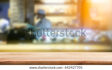 Product Display Template Table Top Sushi Stock Photo Edit Now