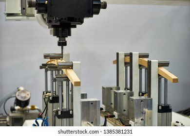 Production of complex parts on the coordinate boring machine with CNC.