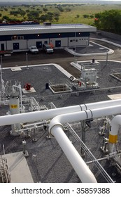production of electricity with gas