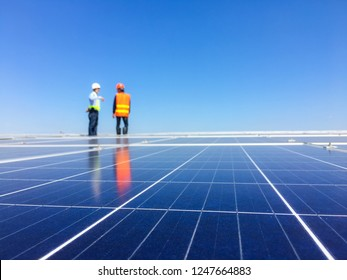 The production of electricity from solar panels on the roof