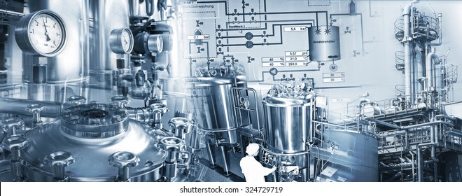 Production equipment of chemical and pharmaceutical industries