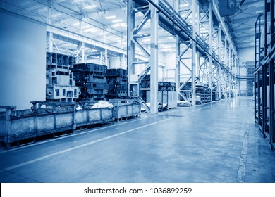 Production line of automobile industry production workshop