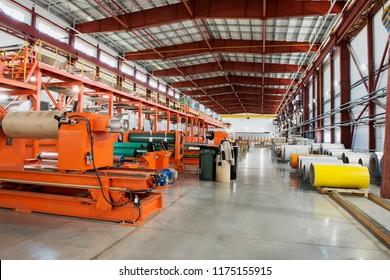 production line.industrial equipment factory-aluminum composite panels