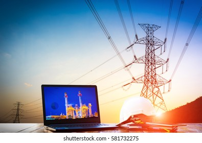 production planning of Power generation and transmission by high voltage pole