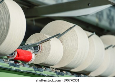 the production of thread and textiles