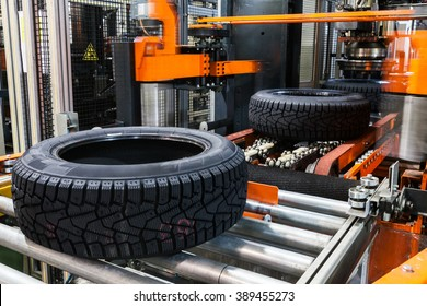 production of tyres