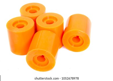 Products polyurethane bush spare parts of industry and work engineering.