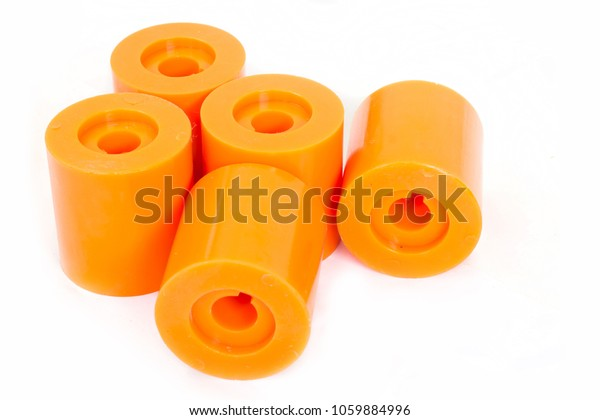 Products Polyurethane Bush Spare Parts Industry Stock Photo