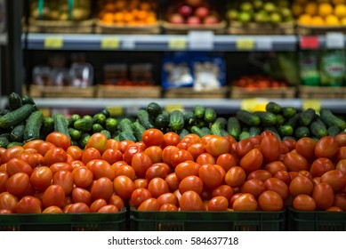 products store supermarket vegetables