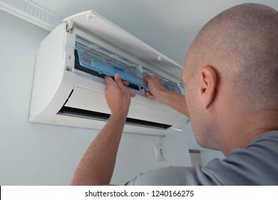 Professional air conditioning repairs.