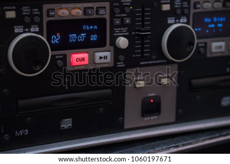 Professional Audio Ans Sound Controller Stock Photo (Edit Now