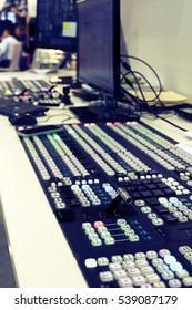 Professional audio mixing console radio / TV broadcasting