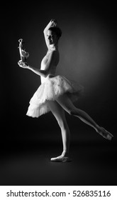 """Professional ballet dancer in costume from the ballet """"the Nutcracker"""""""