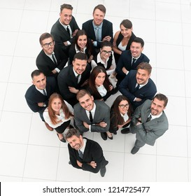 professional business team shows its success