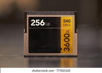 Professional Cfast memory card, 256GB