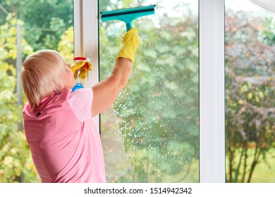 Professional cleaning. Cleaning service. Housekeeping worker
