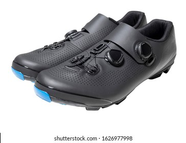 Professional cycling shoes with cleats