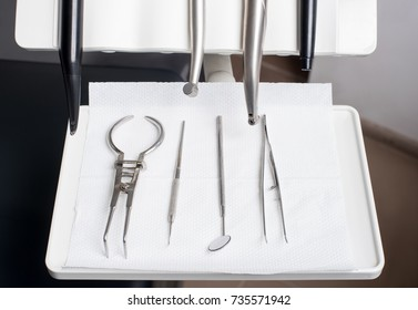 Professional dental equipment in a dentist's office