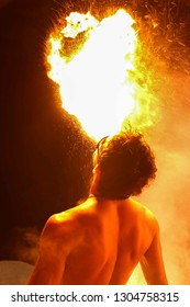 Professional fire show show artists