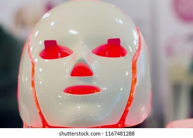 Professional Galvanic Regeneration LED Light Facial Mask . THERAPY FACIAL . Neo-elegance LED Illumination .