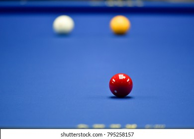 Professional hand billiard (karambol) cue ball hand player