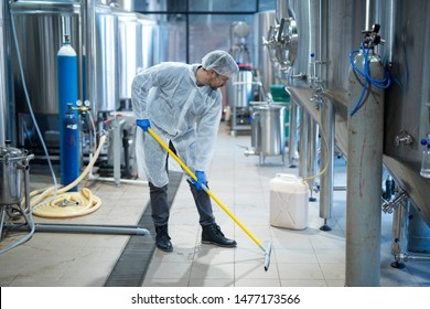 Cleaning Food Factory Images, Stock Photos & Vectors