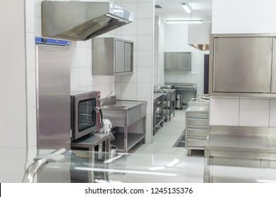 Professional kitchen interior, new and modern