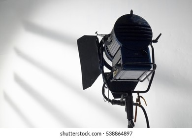Professional lighting equipment for studio