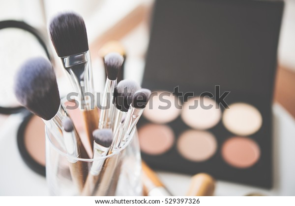Pinceles y herramientas de maquillaje profesional