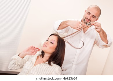dating a male hairdresser