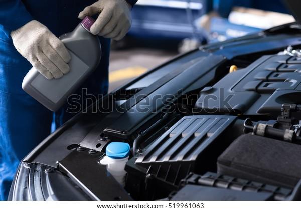 Professionelles mechanisches Wechselöl