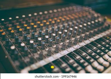 Professional mixers, some retro tone