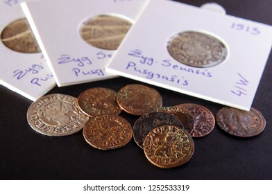 Professional paper sleeves for numismatics and ancient coins