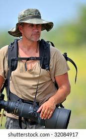 professional photographer outdoor