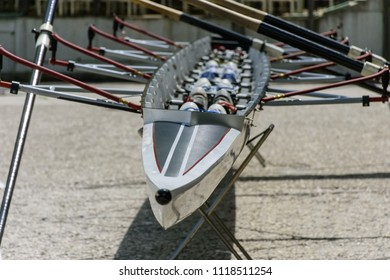 Professional rowing boat for 8 rowers