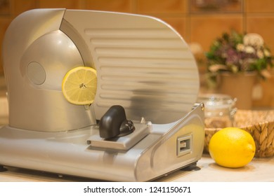 Professional slicer for cutting products.