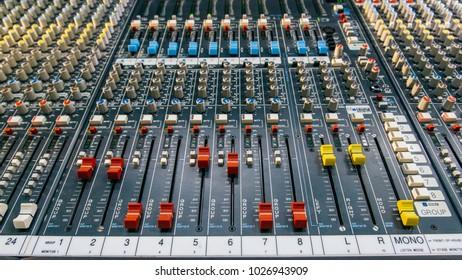Professional sound panel