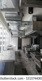 professional stainless kitchen set for restaurant